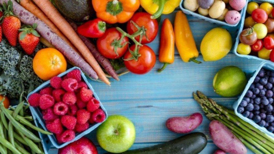 Warzywa i owoce-oddział V