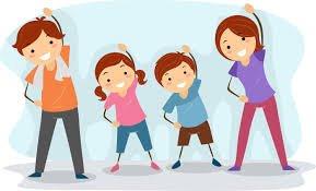 Sportowe warsztaty integracyjne dla dzieci z rodzicami- oddział I