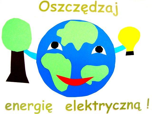"""""""Oszczędzamy energię elektryczną """"-oddział IV"""